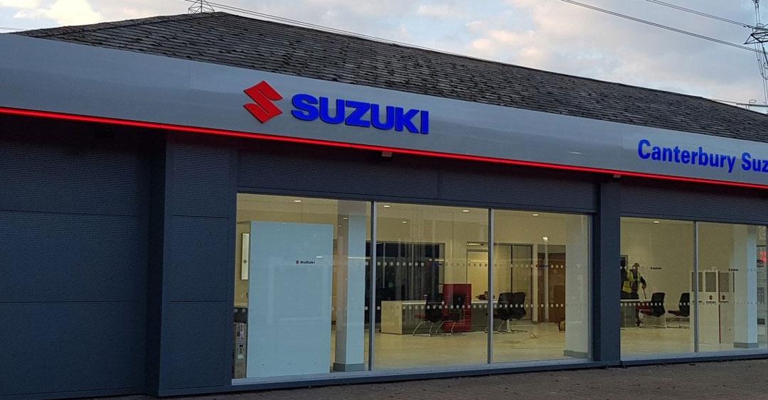 Suzuki Flagship Showroom Red Key, Canterbury. Concepts