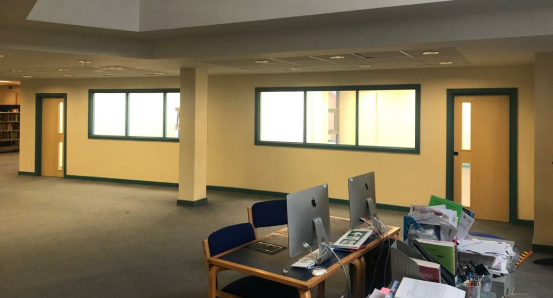 Canterbury College refurbishment and construction of new study rooms