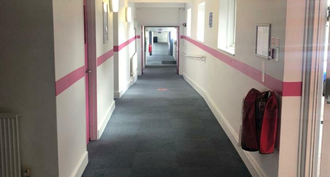John Ruskin College Construction skills Hub refurbishment Red Key, Canterbury. Concepts